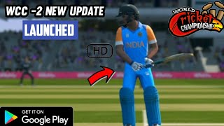 🔥WCC2 NEW MEGA UPDATE LAUNCH V.2.8.8.4 FULL REVIEW | CAEEER MODE , REALISTIC JERSEY | MAH GAMING |