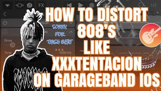 Download How To Distort 808's Like XXXTENTACION On Garageband IPhone/IPad MP3 song and Music Video
