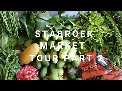 S2 E8 | Stabroek Market Tour | Part 2 Shopping for Fish and Vegetables