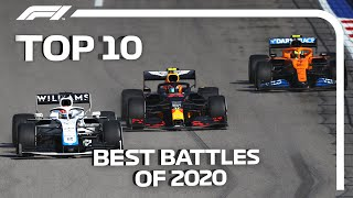 Top 10 Battles of the 2020 Formula 1 Season