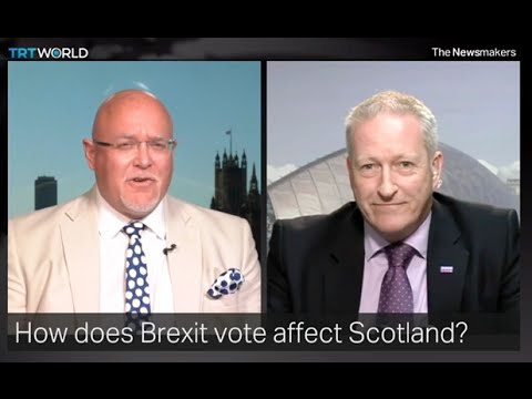 GMK (BfS) V Brian Montieth (Tories) on Turkish TV on Brexit & Independence