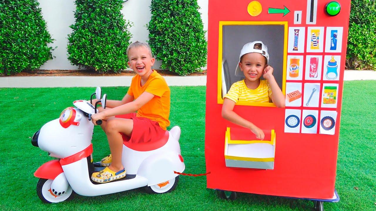 Download Vlad and Nikita vending machine kids toy story 2