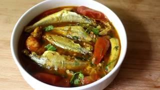 টমেটো দিয়ে পাঁচ মিশালি মাছের ঝোল রেসিপি   \\ Tomato recipe