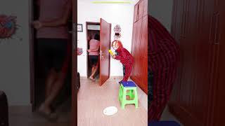 Funny Prank Try not to laugh CHUCKY Nerf War 🤣😋 #shorts Scary GHOST PRANK funny Tik Tok India comedy