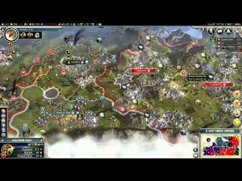 Let's Play Civilization V: G&K - Austria #10b: Yes We Can