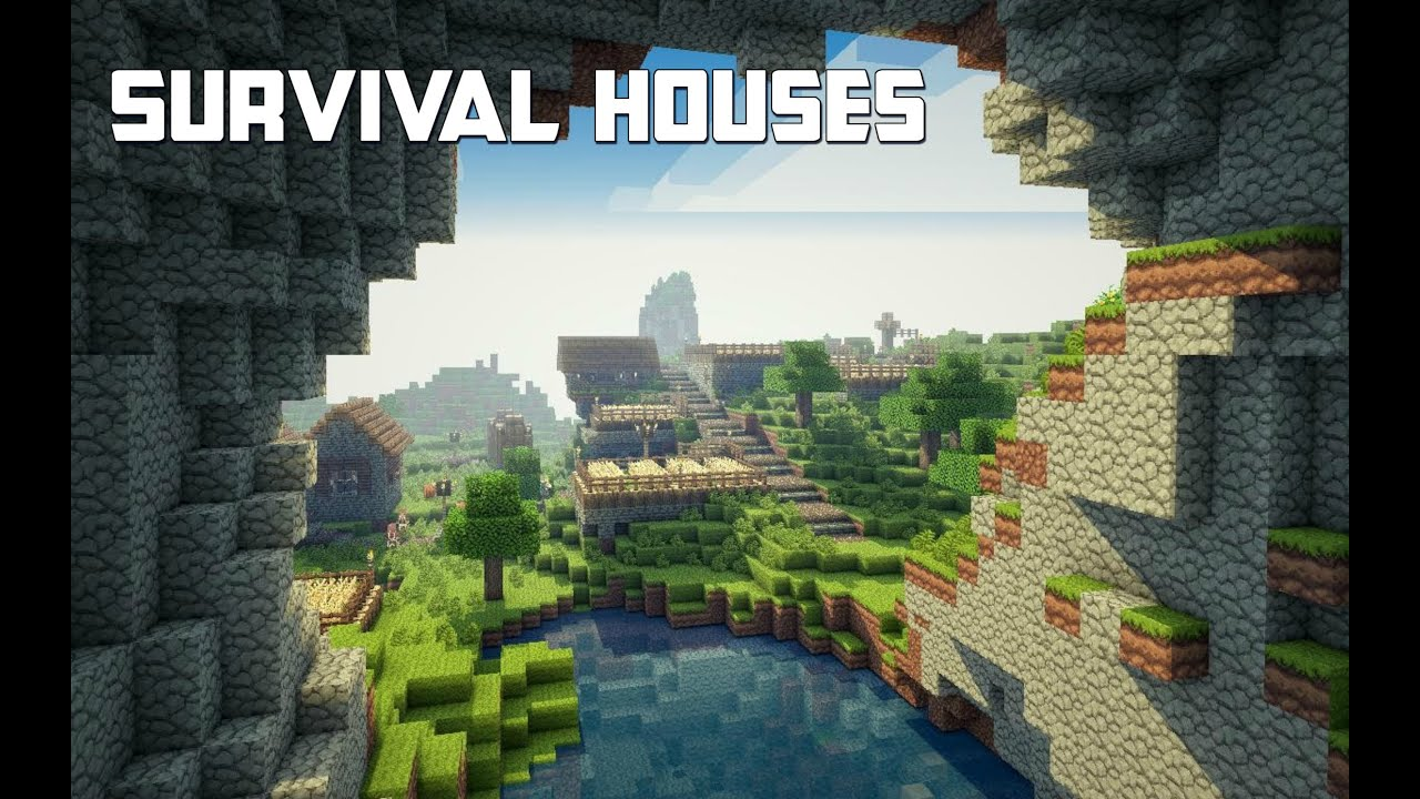 Minecraft Survival House Ideas Quick And Easy Tutorial Xbox