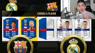 OMG El Clásico FC BARCELONA vs. REAL MADRID ⛔️⚽️ MSN vs. BBC - FIFA 17 FUT DRAFT