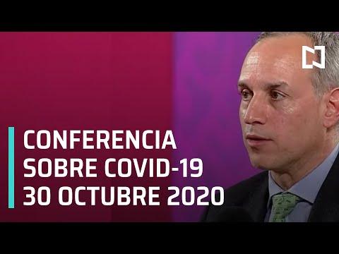 Conferencia Covid-19 en México - 30 octubre 2020
