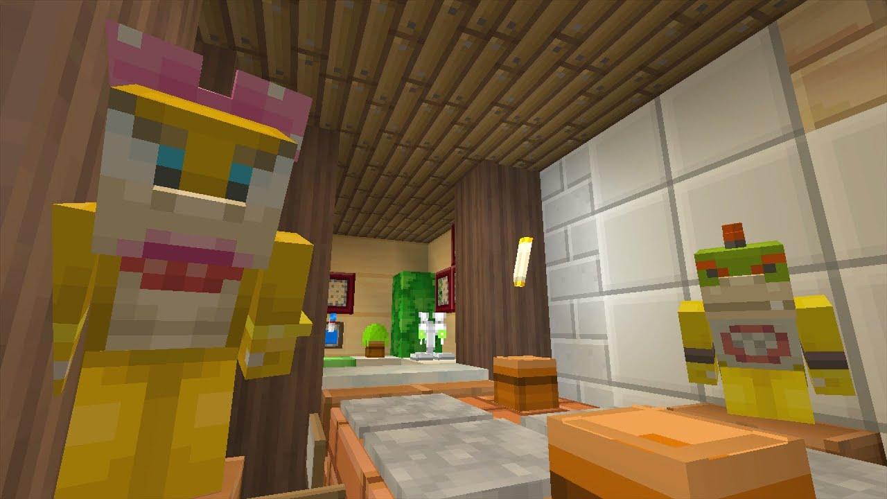 Minecraft Wii U Nintendo Fun House Bowser Jrs Girlfriend - Minecraft anfangs hauser