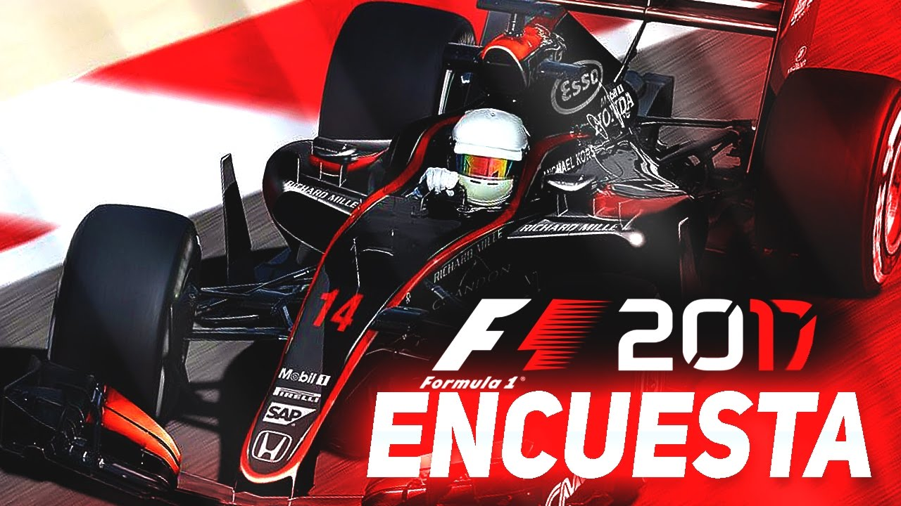 primeros rumores de f1 2017 codemasters encuesta con rubenmf youtube. Black Bedroom Furniture Sets. Home Design Ideas