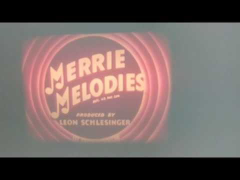 A Corny Concerto Warner Bros Intro 16mm Film