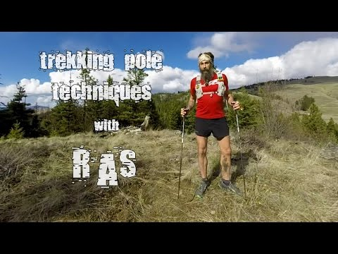 Trekking Pole Techniques - The UltraPedestrian Method