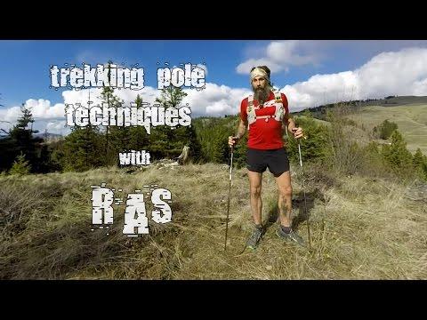 Trekking Pole Techniques The UltraPedestrian Method
