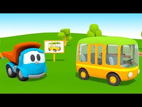 Pequeño Leo - Autobús - Camiones - Carritos para niños