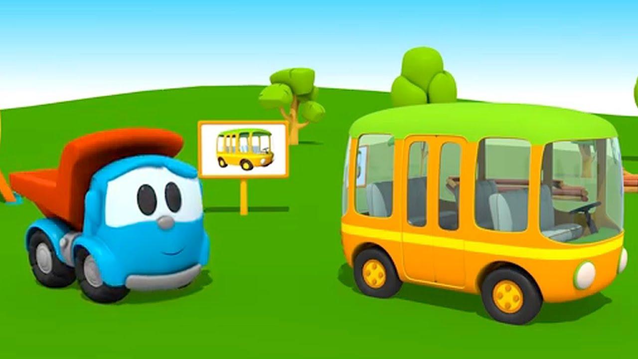 Leo el Pequeño Camión - Autobús - YouTube