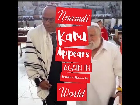 BREAKING! Again Nnamdi Kanu Appears For The Second Time In Jerusalem