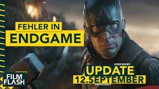 Absichtlicher Fehler in AVENGERS Endgame | Sony-Helden-Universum geplatzt | und mehr im FilmUpdate