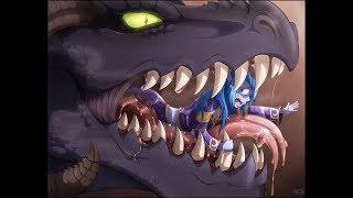 Dragon vore - IncredibleEdibleCalico (part 1)