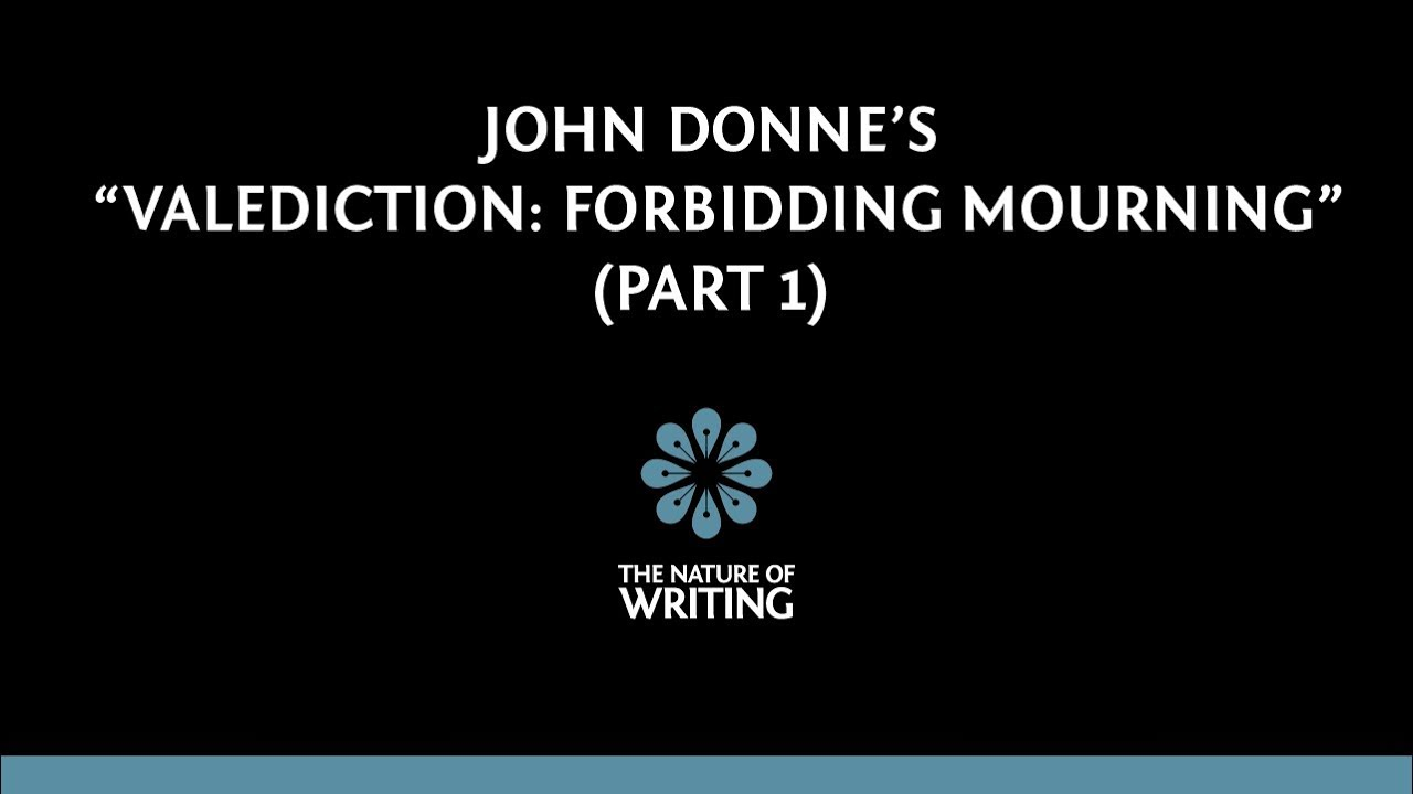 donne forbidding mourning