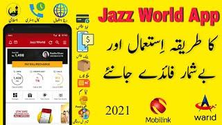 Jazz World App Review /How to Use Jazz World App/  IT Key screenshot 5