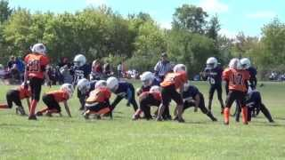 Racine Youth Sports - Awesome Youth Football Game video # 2