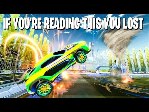 IF YOU'RE READING THIS YOU LOST THE GAME - ROCKET LEAGUE