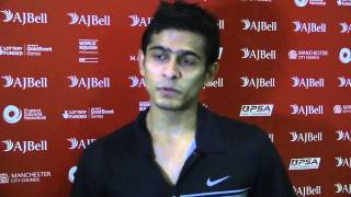 Squash : Two minutes with Saurav Ghosal