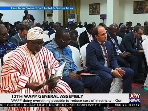 12th WAPP General Assembly - News Desk on Joy News (3-11-17)