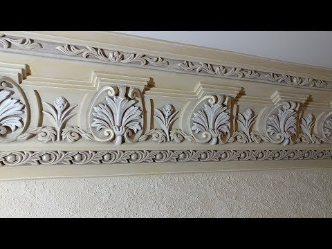 Gypsum Cornice Painting Technology