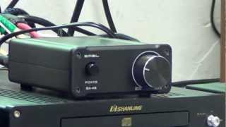 雙木三林 SA-4S迷你擴音機 x Fostex FE126五吋全頻喇叭