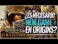 Assassin's Creed Origins   ¿Es realmente NECESARIO un MODO NEW GAME+ en el juego?