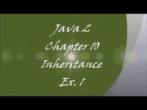 TCH322 Java Programming Unit 10  Exercise1