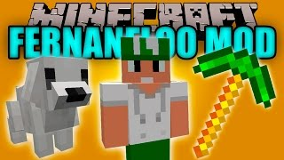 FERNANFLOO 2 MOD - Curly, Boss Fernanfloo y mas carajoo! - Minecraft mod 1.7.10 Review ESPAÑOL