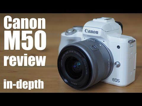 Canon EOS M50 review - in-depth
