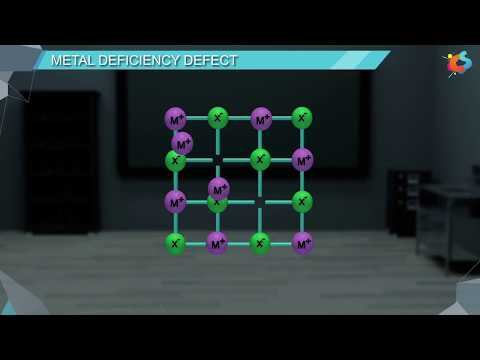 13  - Class 12 - Chemistry - Solid State - Non Stoichiometric Defects