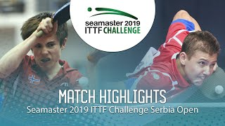 Лев Кацман vs Adrian Wetzel | Serbia Open 2019 (Group)