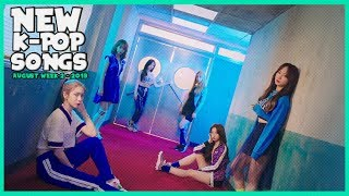 NEW K-POP SONGS I AUGUST 2019 - WEEK 2
