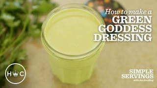 Green Goddess Dressing