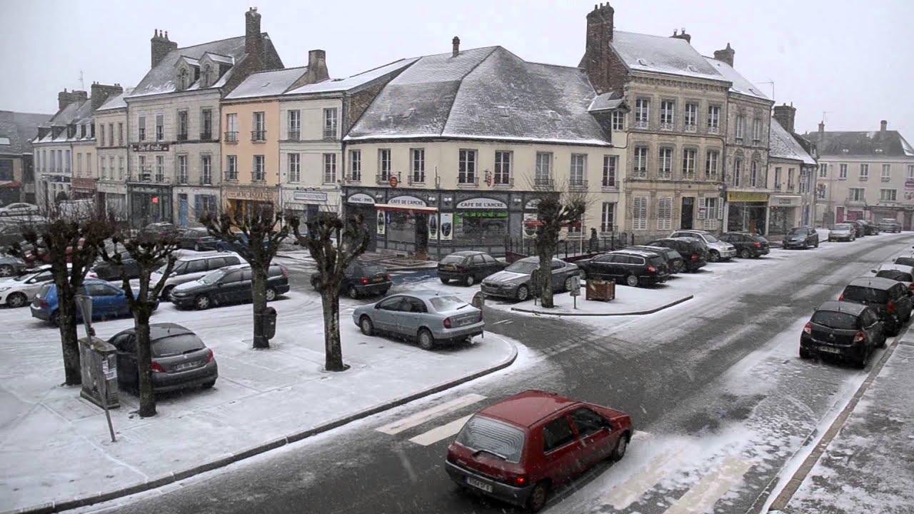 Neige dans le perche mortagne 18 01 2013 youtube - Le perche le journal ...