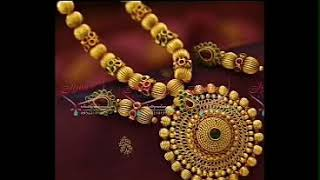 Gundla mala designs\\\Latest gold ball middle haram
