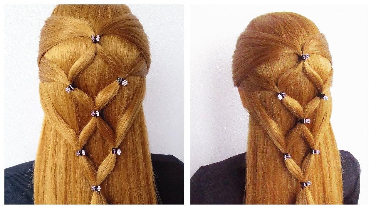 Tuto coiffure pour la RENTREE SCOLAIRE 🔹 Coiffure simple et rapide pour tous les jours