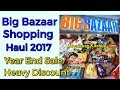 Big Bazaar Shopping Haul 2017 / Year End Heavy Discount Sale 2017 - monikazz kitchen