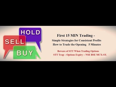FIRST 5 MIN TRADING -Options strategy (Hindi)[ TOP RATED ]