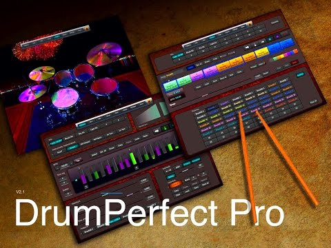DrumPerfect Pro Setting Up & Building A Song From Scratch Demo for iPad