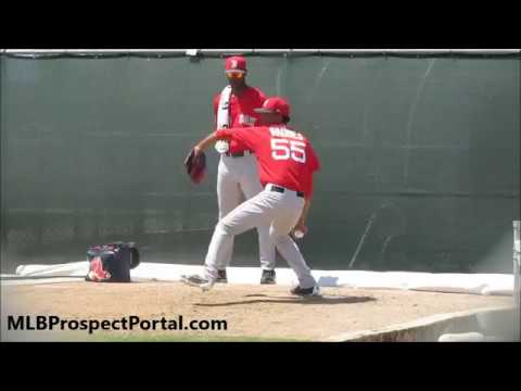 Roniel Raudes - Boston Red Sox prospect (RHP)