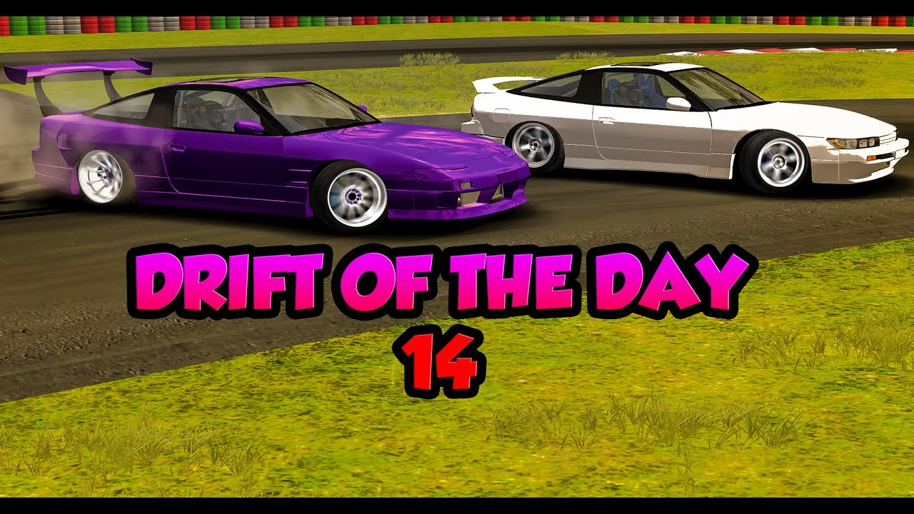 Rfactor: DRIFT OF THE DAY 14 - Forest Park - GOING HAM -SP Mod 180sx/180sx  [60FPS]