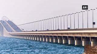 World's longest sea bridge opened in China