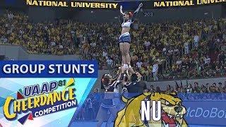 UAAP CDC Season 81: NU Pep Squad   Group Stunts
