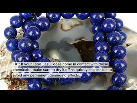A DIY Guide To Taking Care Of Your Lapis Lazuli