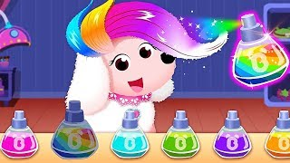 Baby Panda's Pet Salon - Play Hairstyling, Skin Care And Makeup Animals - Makeover Pet Games